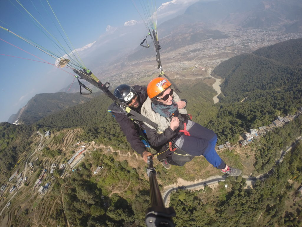 parapente_pokhara